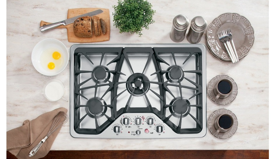Classic GE CGP350SETSS 30 Stainless Gas Cooktop; A Big Steal