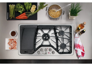 30″ and 36″ Gas Cooktops for Fully Functional Kitchens