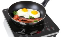 Portable 1800 Watt Induction Countertop Cooktop Burner by Ivation: Handy at Its Best
