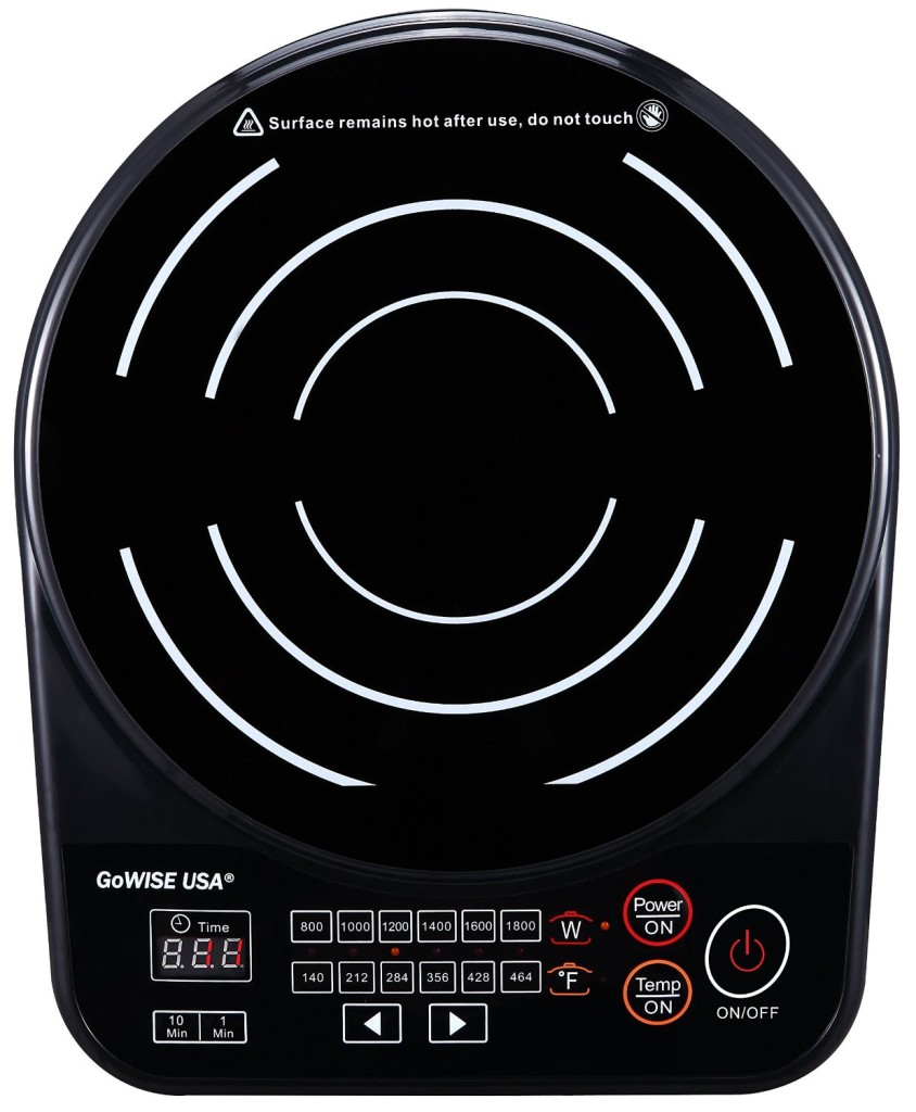 Save Money, Get More with the GoWISE USA Induction Glass Cooktop