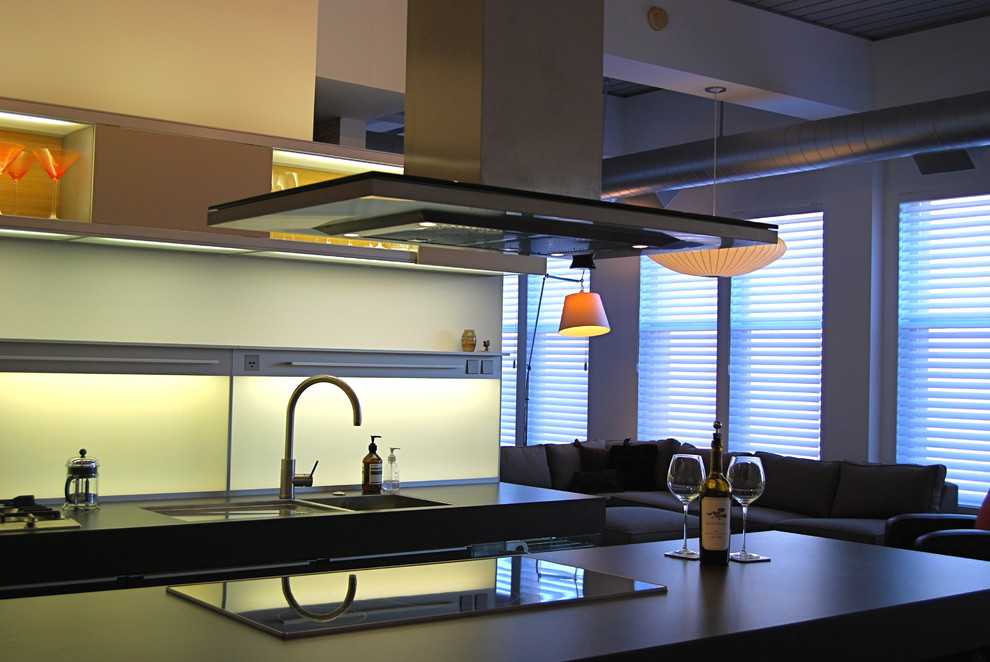 Nice Modern_kitchen_with_induction_cooktop
