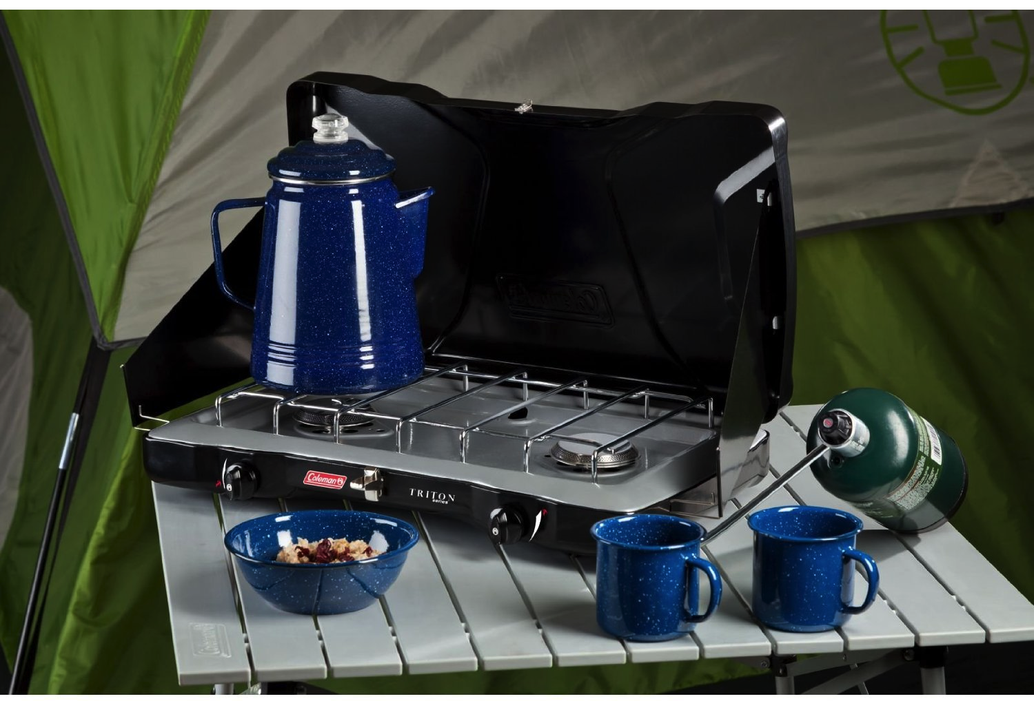 Insta-Start Your Fun Cooking With Coleman Camping Stove