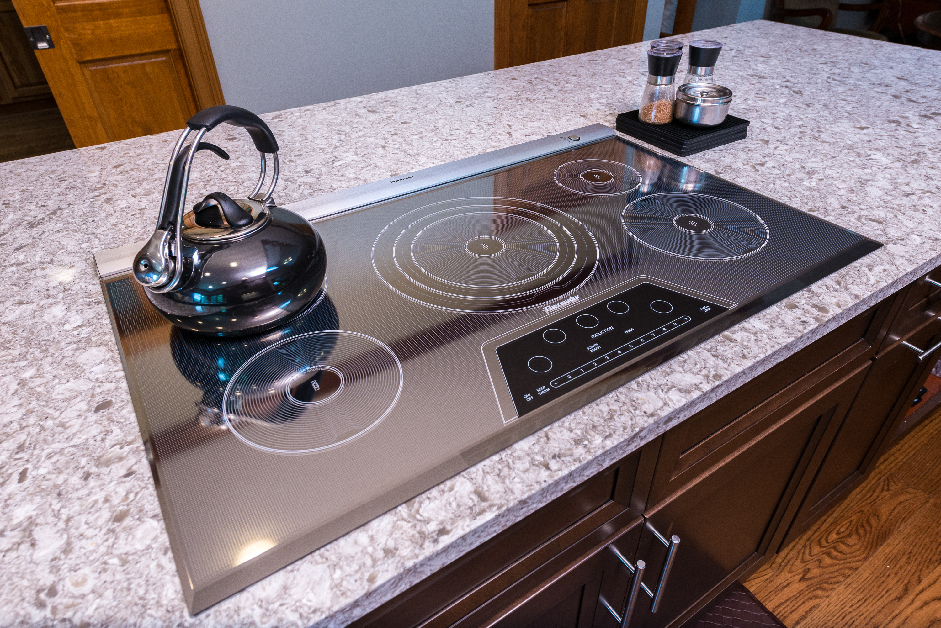 stove inch cooktop full dacor the image induction cooktops cooking with inspirations of shocking home electric countertop size