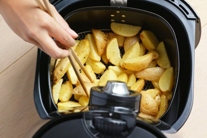 Cooking Using Air Fryer