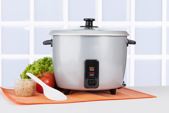 Gray Rice Cooker