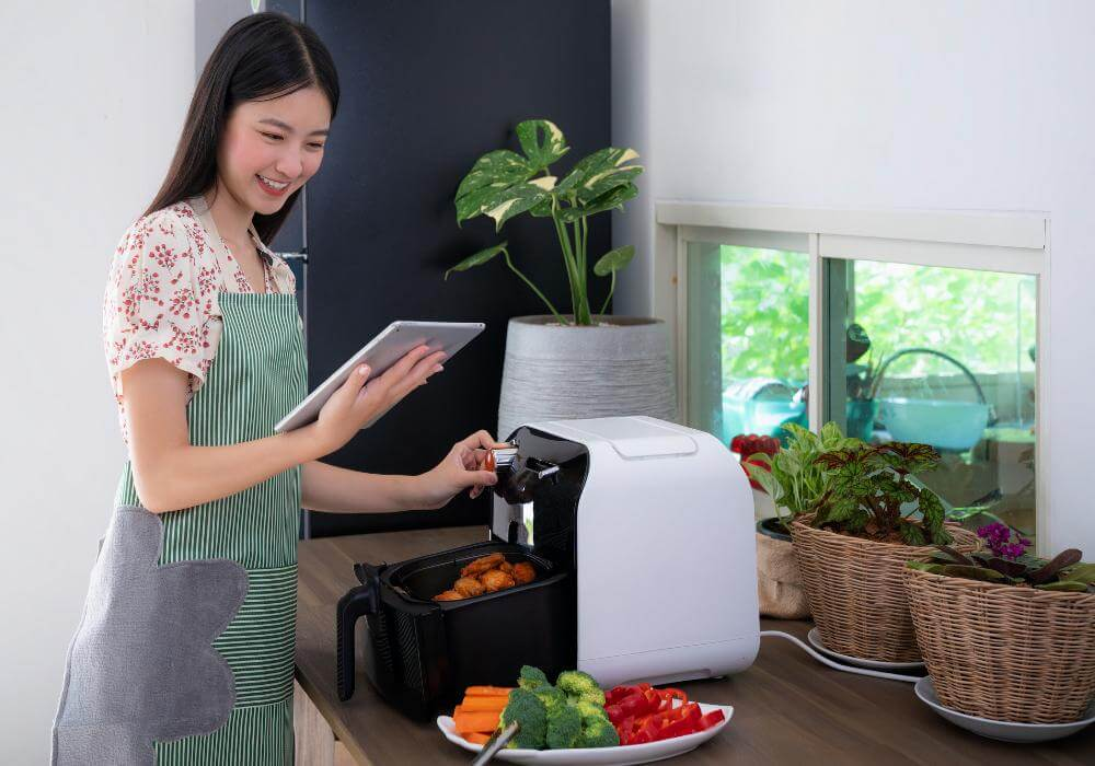 how does an air fryers work
